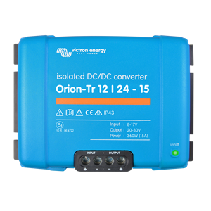 Victron Orion-Tr 12/24-15A (360W) Isolated DC-DC converter