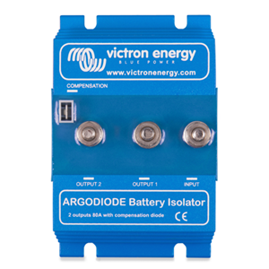 Argodiode 80-2AC 2 batteries 80A