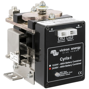 Cyrix-i 24/48V-400A intelligent battery combiner