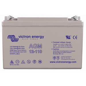 Victron 12V/110Ah AGM Deep Cycle Batt. (M8)