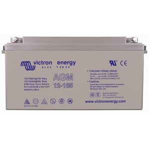 Victron 12V/165Ah AGM Deep Cycle Batt. (M8)