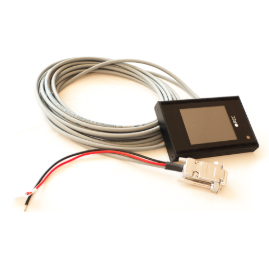 LCD touch display for REC BMS
